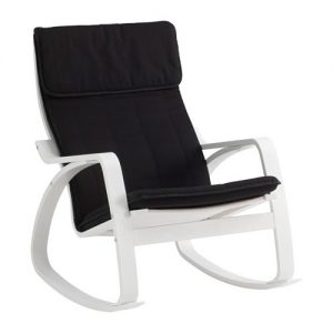 Chaise de bureau blanche et noire racing chaise id es for Chaise blanche ikea