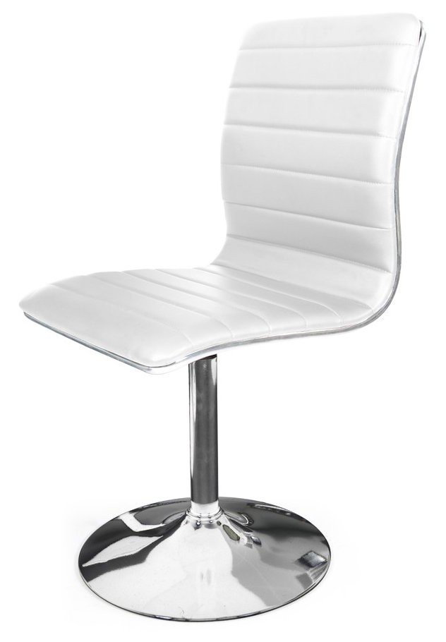 Chaise Pied Tulipe Chrome