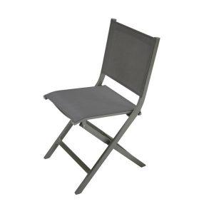 Chaise jardin pliante bois metal chaise id es de for Chaise pliante fly