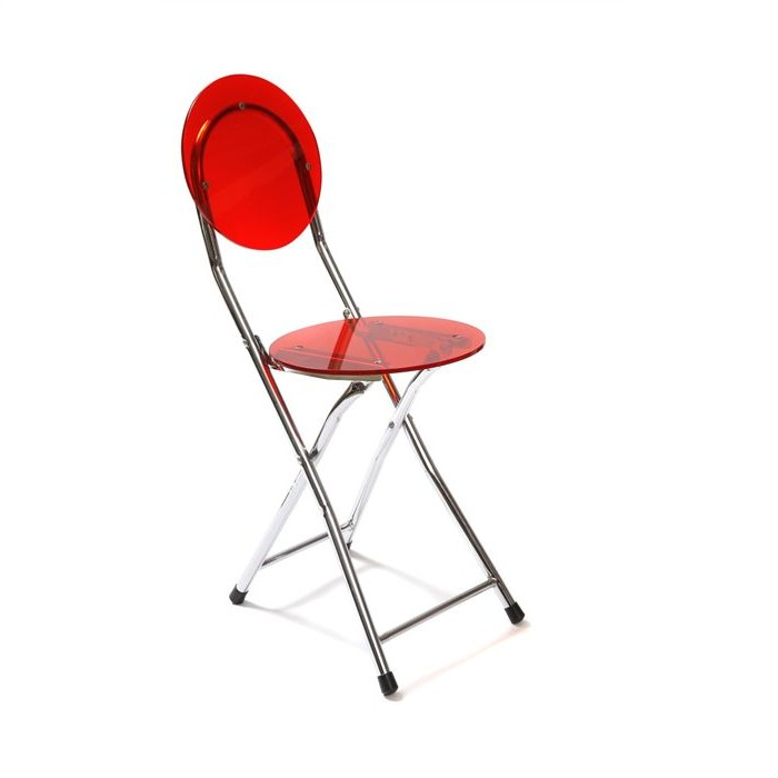 Simple chaise pliante rouge but with chaise de cuisine rouge for Liquidation chaise cuisine