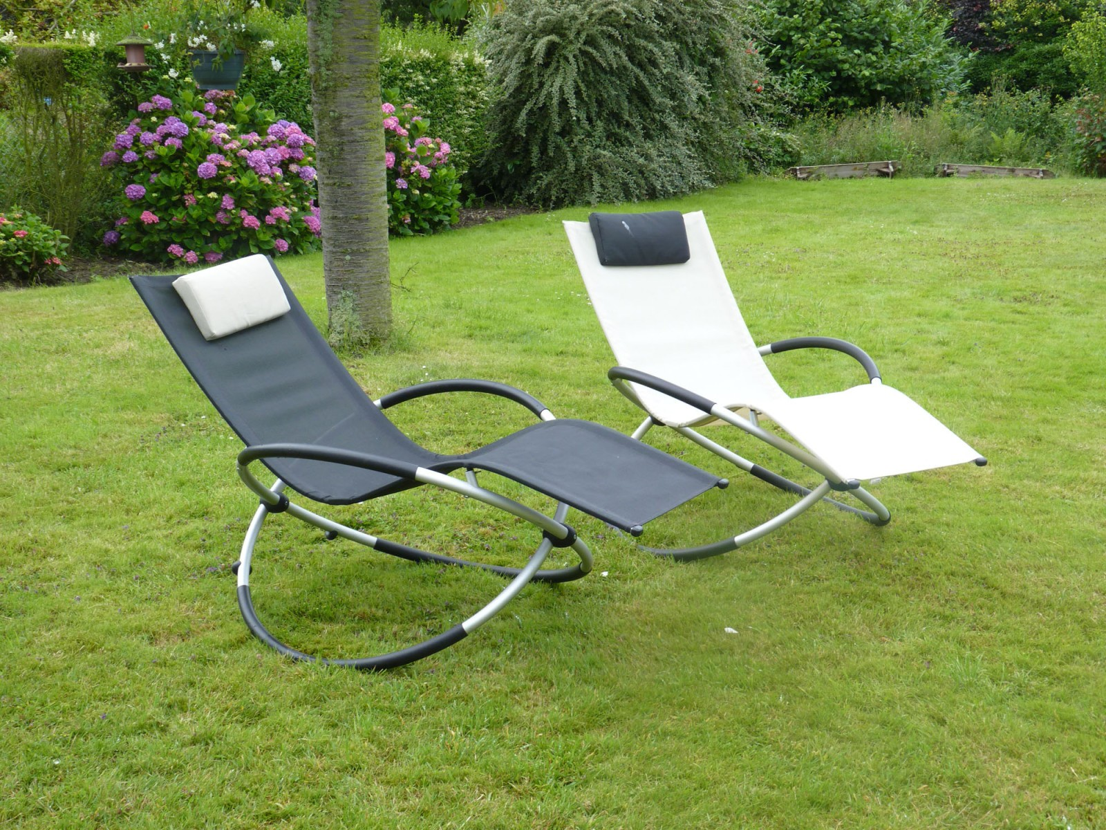 Chaise relax jardin leroy merlin chaise id es de for Chaise longue relax jardin