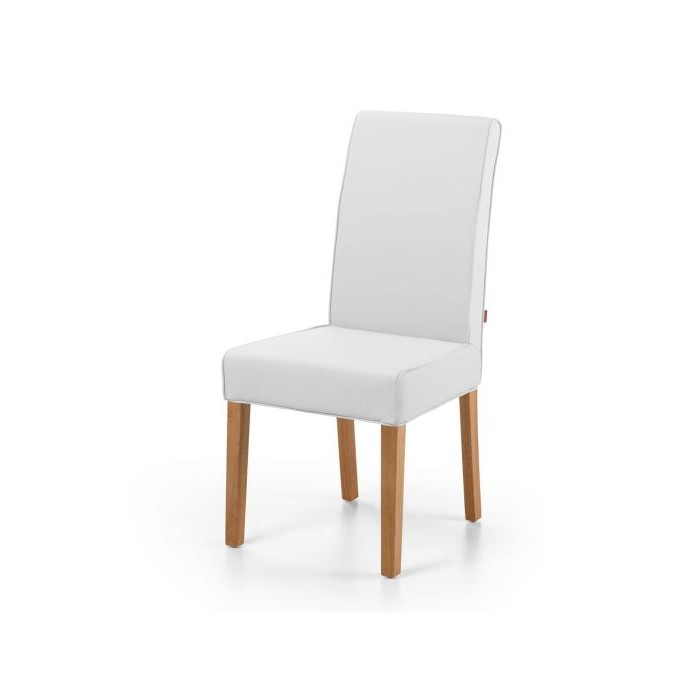 Chaise salle a manger blanche chaise blanche conforama for Chaise contemporaine blanche
