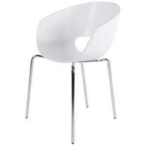 Chaises Blanches Design Salle Manger