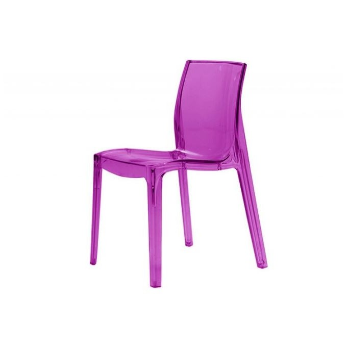 Chaises plastique transparent couleur chaise id es de for Chaise en couleur