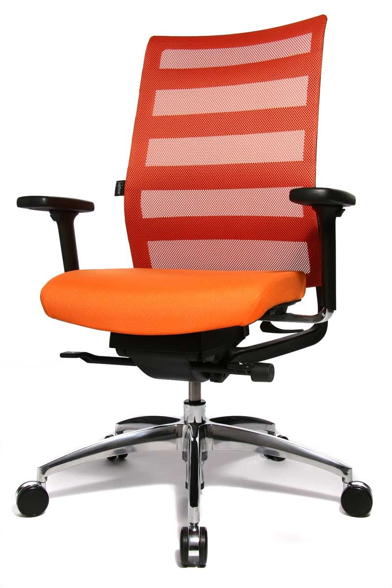 Fauteuil de bureau orange chaise id es de d coration for Fauteuil ikea orange