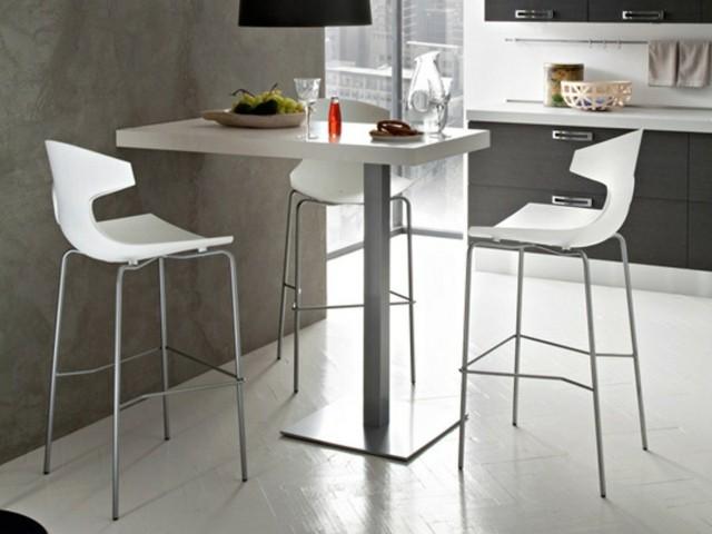 Table Et Chaise De Bar Haute