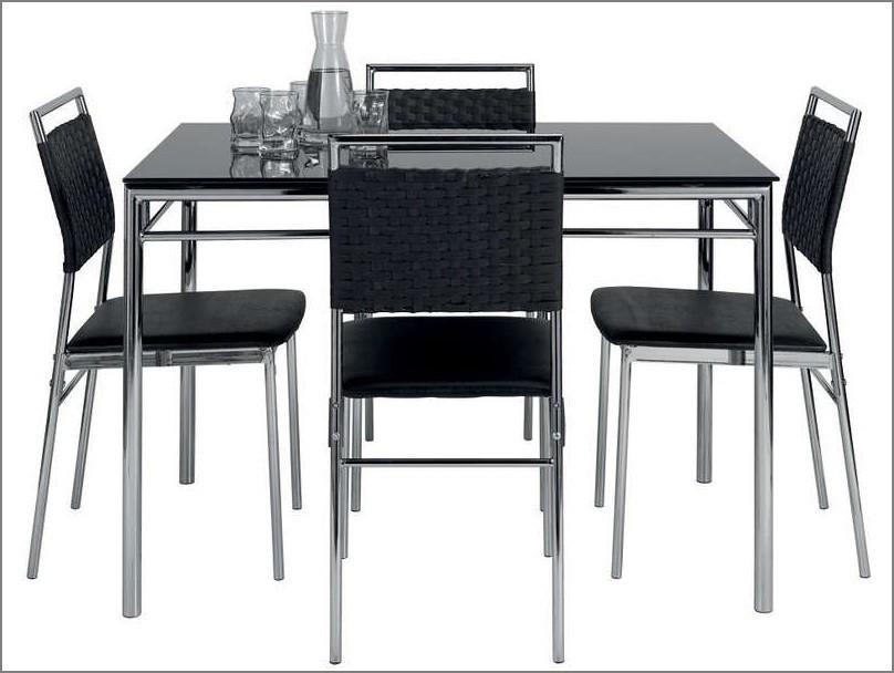 Table Pliante Avec Chaises Encastrables