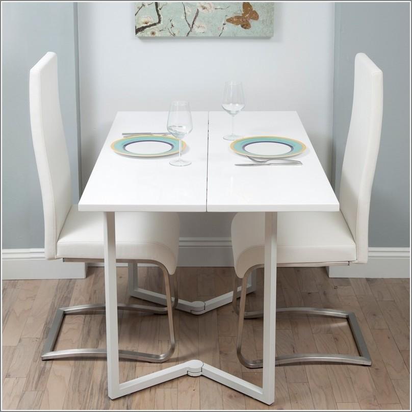 Table Pliante Avec Chaises Incorporées