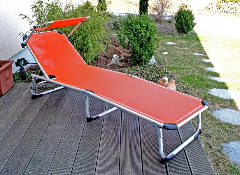 Chaise Bain De Soleil Pliante