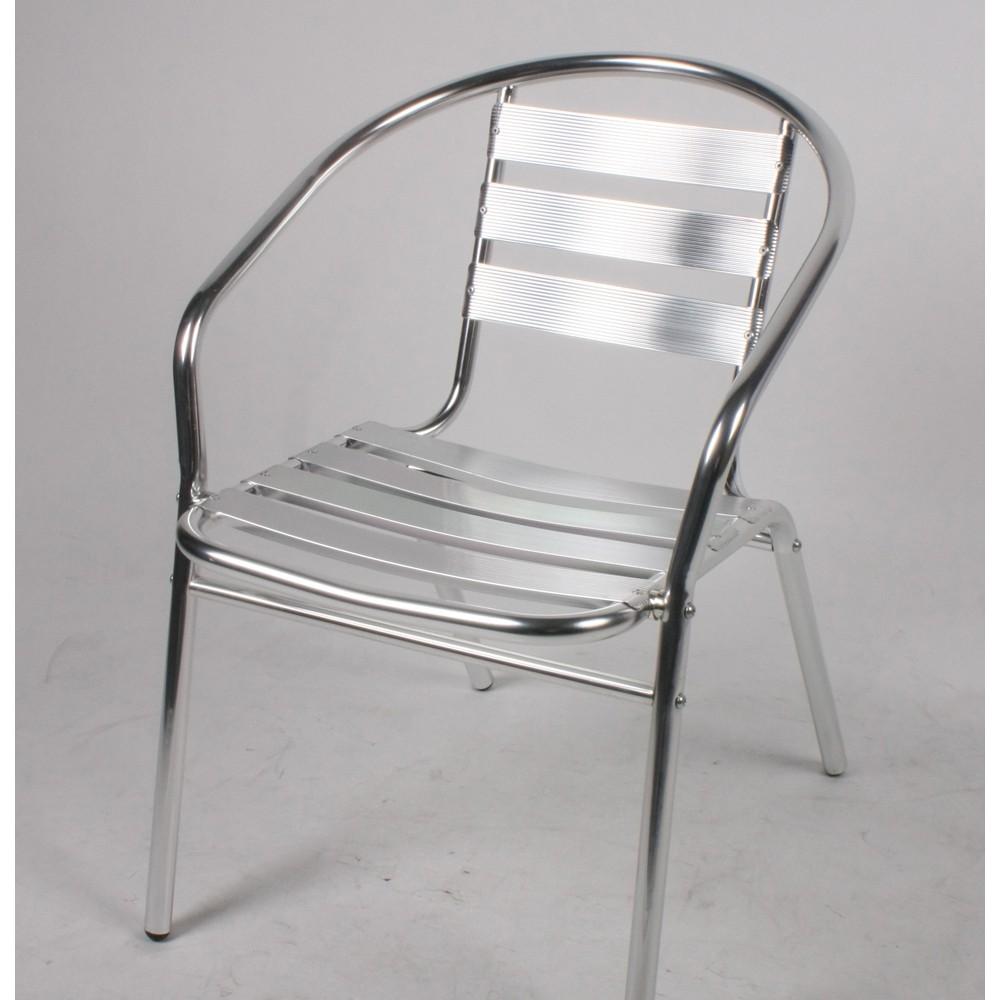 Chaise Bistro Aluminium