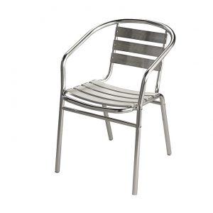 chaise bistrot alu chaise id es de d coration de maison 5az0j8l3dx. Black Bedroom Furniture Sets. Home Design Ideas