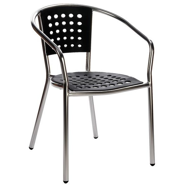 Chaise bistrot alu chaise id es de d coration de for Chaise bistrot alu