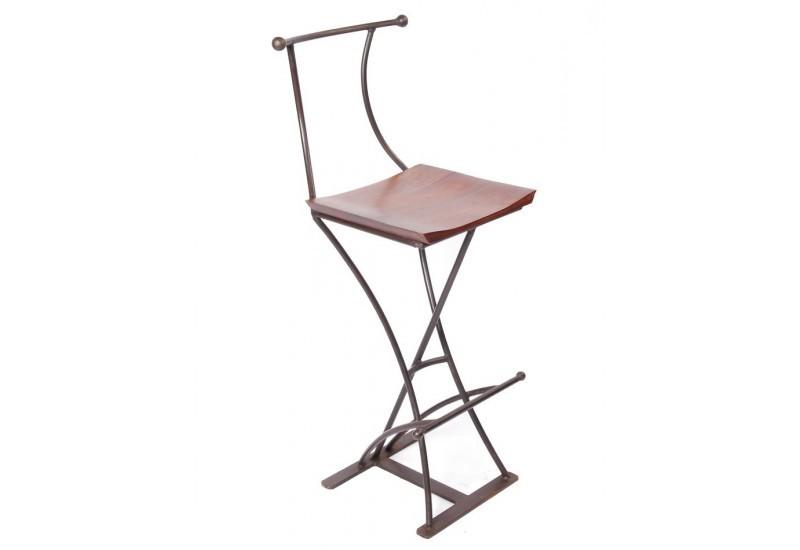 Chaise De Bar Fer Forgé Design