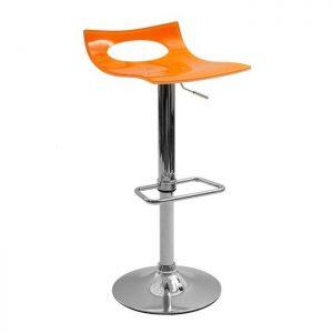 Chaise De Bar Orange Design