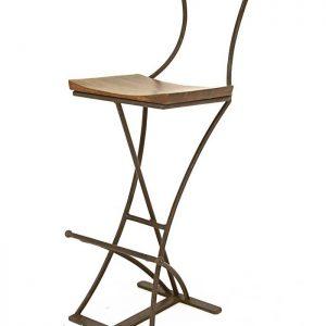 Chaise fer et bois pliante chaise id es de d coration - Chaise de bar pliante ...