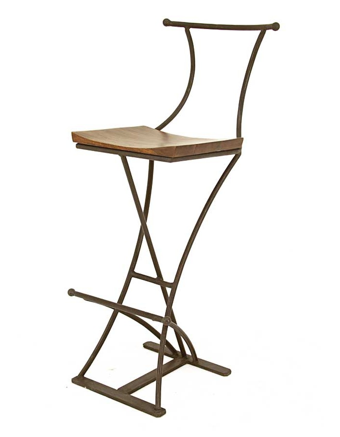 Chaise De Bar Pliante En Bois