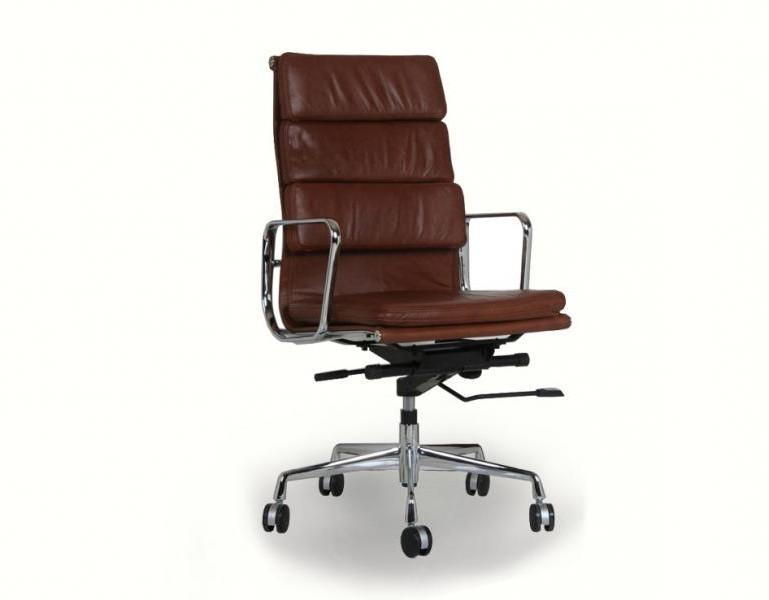 Chaise De Bureau Cuir Marron