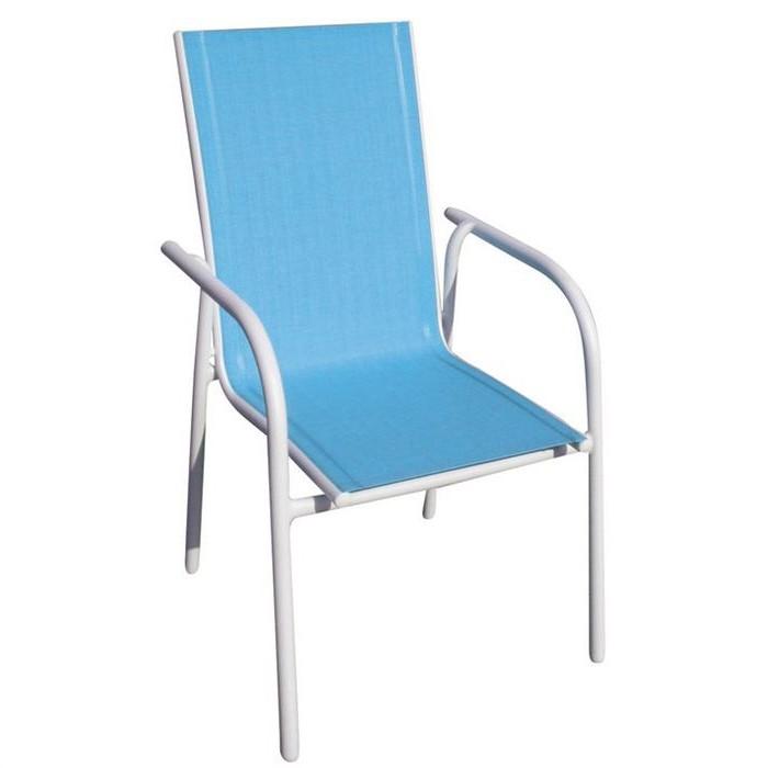 Chaise De Jardin Aluminium Et Textilene