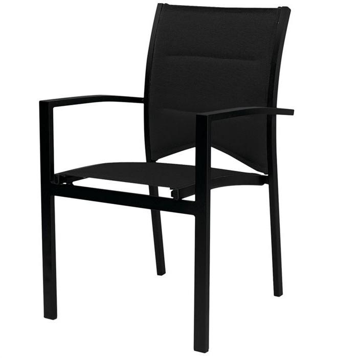 Chaise De Jardin Aluminium Noir