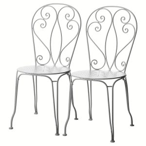 Chaise jardin fer forg castorama chaise id es de for Chaise de jardin castorama