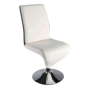 Chaise pliante design blanche chaise id es de for Chaise blanche conforama