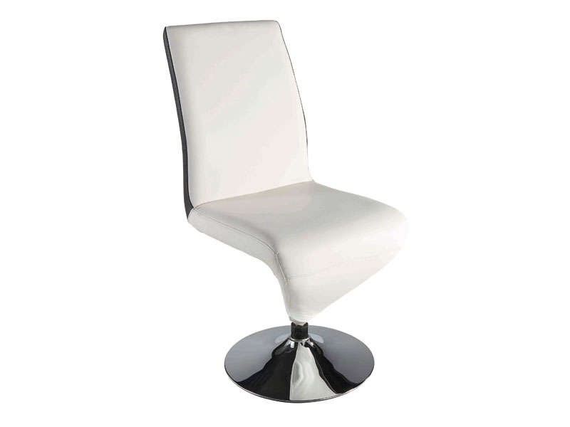 Chaise Design Blanche Conforama