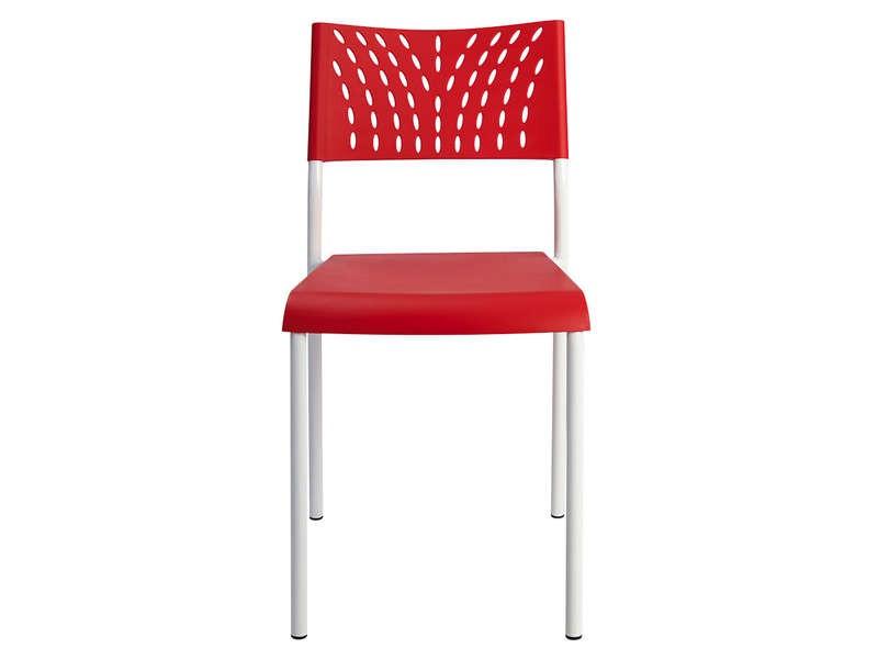 Chaise Design Rouge Conforama