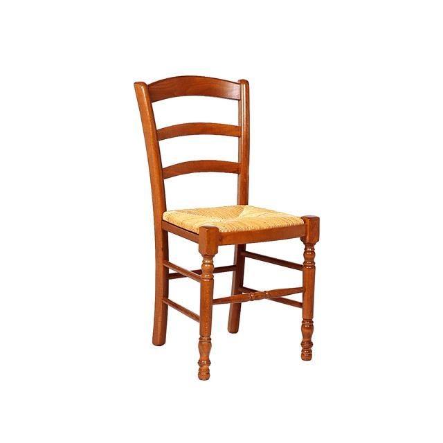 Chaise En Hêtre Rustique