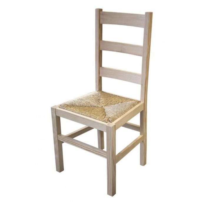 Chaise En Solde Bois Brut