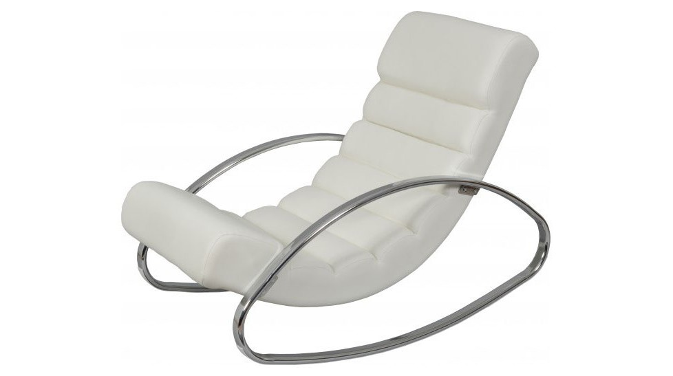 Chaise Longue Blanc Design