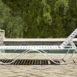 Chaise longue blanc fly chaise id es de d coration de for Chaise longue pvc blanc