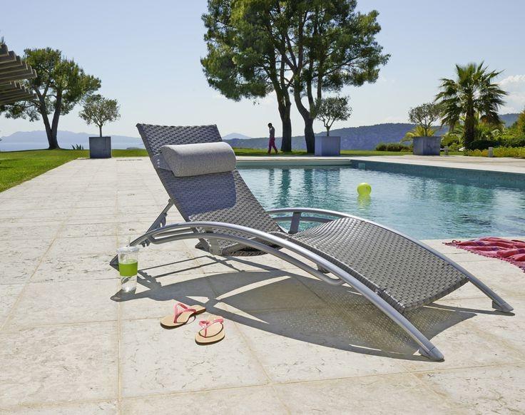Chaise longue r sine tress e carrefour chaise id es de d coration de maison q8nk38znoy - Chaise longue resine tressee ...
