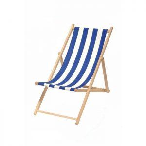 Toile chaise longue pas cher chaise id es de for Chaise longue toile bois