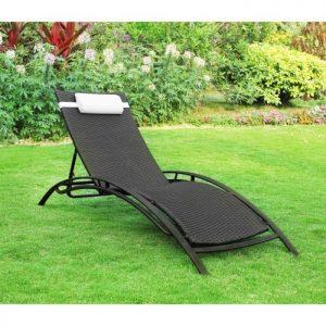 Chaise longue r sine tress e chaise id es de d coration de maison v9lpw9eno3 for Chaise longue resine tressee
