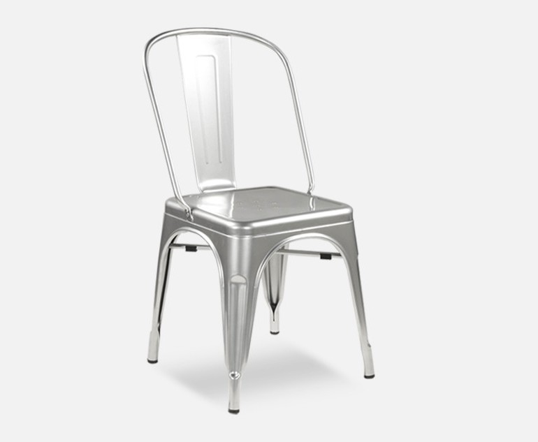 Chaise Metal Type Tolix