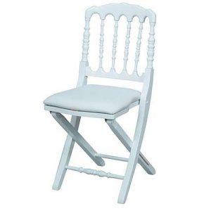 chaise pliante design blanche chaise id es de. Black Bedroom Furniture Sets. Home Design Ideas