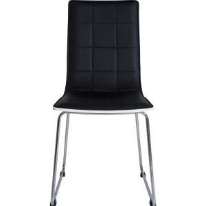 Chaise salle a manger simili cuir noir chaise id es de for Chaise salle a manger simili cuir blanc