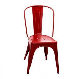 Chaise Tolix Rouge Brique