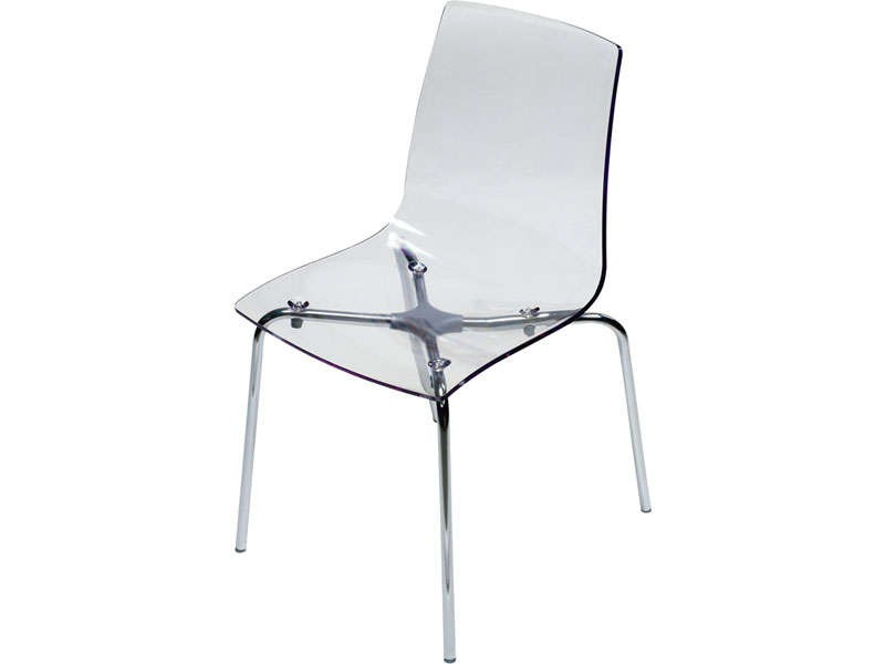chaise transparente design conforama chaise id es de