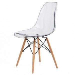Chaise pied bois ikea chaise id es de d coration de for Chaise transparente pied en bois