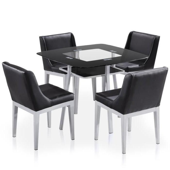 Ensemble Table Carrée Et Chaises