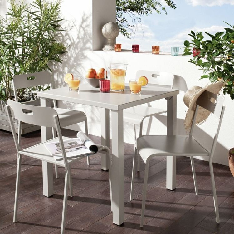 Ensemble Table Et Chaise De Balcon