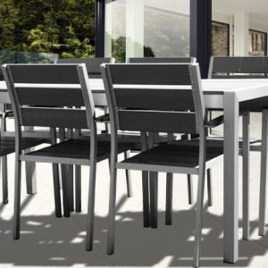 Ensemble Table Et Chaise De Jardin Aluminium
