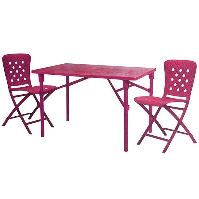 Ensemble Table Et Chaise De Jardin Metal