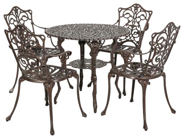 Ensemble Table Et Chaises Bistro