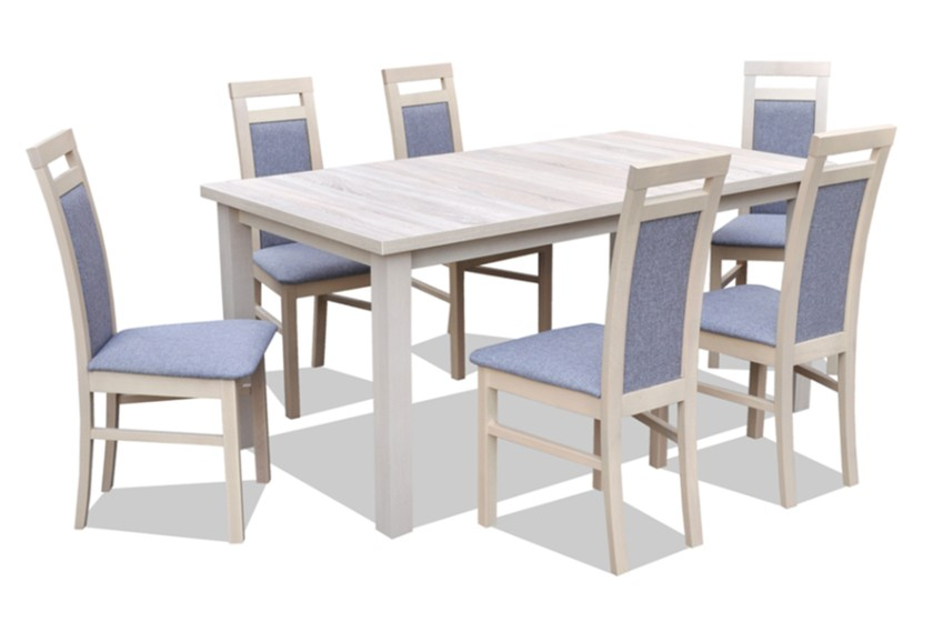 Ensemble Table Extensible Et 6 Chaises
