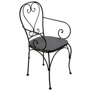 Fauteuil De Jardin Fer Forgé Ancien - Chaise : Idées de Décoration ...