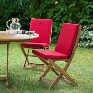 Galette chaise dehoussable de jardin chaise id es de - Galette de chaise de jardin ...