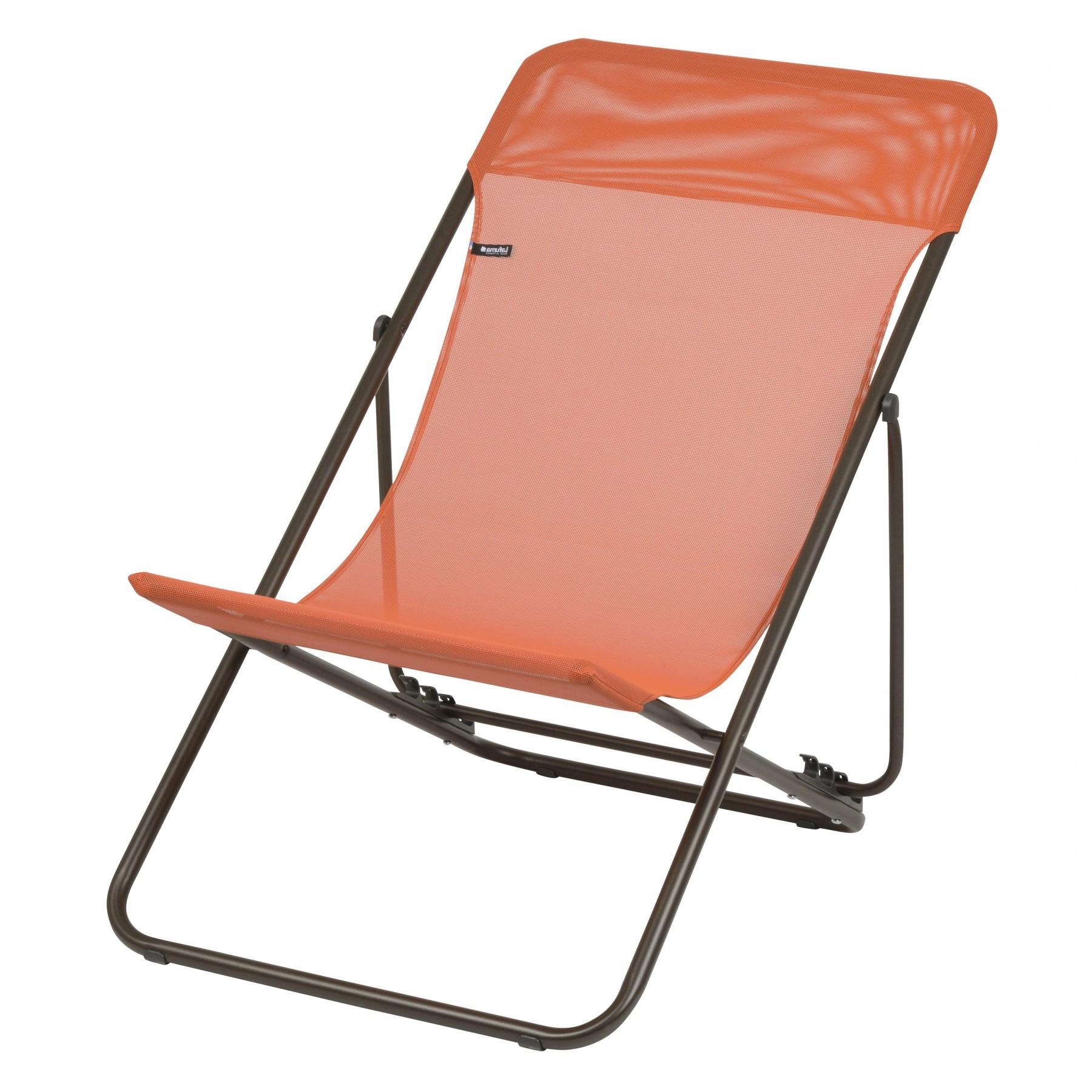 Soldes Chaise Longue Lafuma