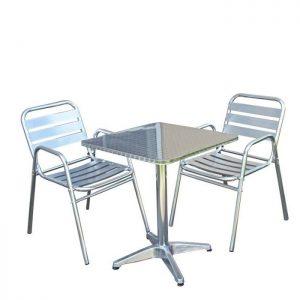 Chaise Haute Bistrot Aluminium Chaise Idées De